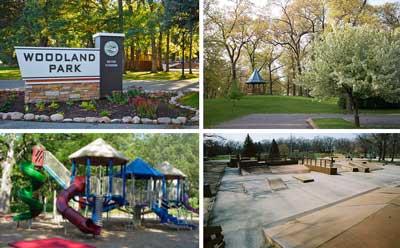 Walking distance to Woodland Park, Portage Indiana